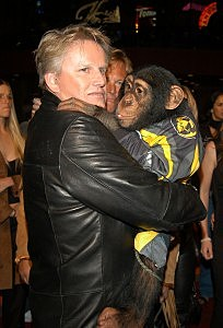 Gary Busey started the crap fight