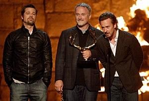 Brad Pitt, David Fincher, Edward Norton