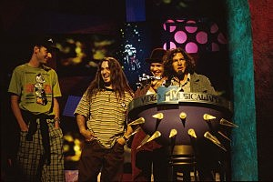 Pearl Jam at the MTV Music Video Awards 1993
