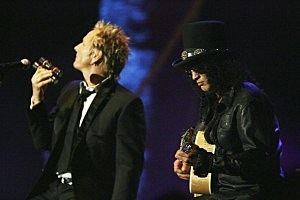 Matt Sorum and Slash