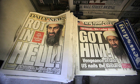 U.S. Reacts To Death Of Osama Bin Lade