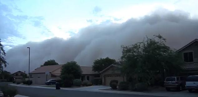Phoenix Dust Storm 2011