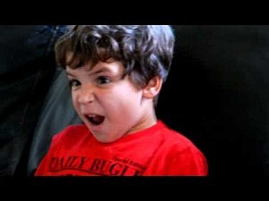 Kid Reacts to Finding Out Luke Skywalker's Father
