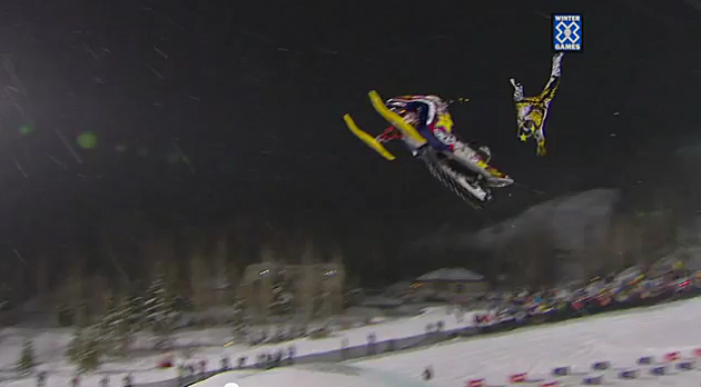 Winter X Games 2012 Colten Moore Crash