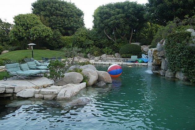 Playboy Mansion Pool