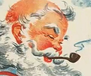 Santa's Last Smoke!