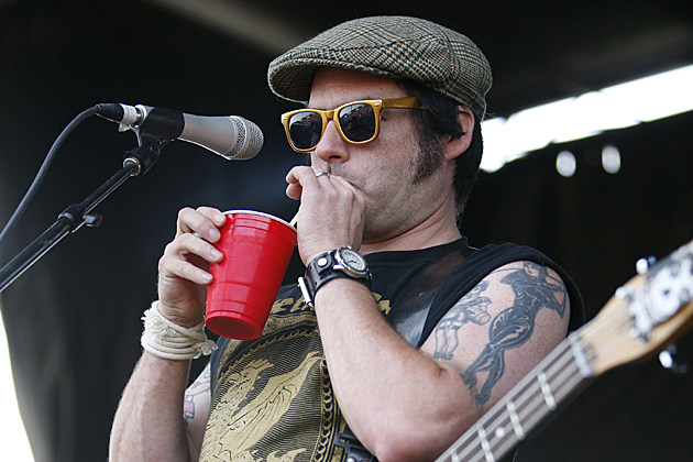 Fat Mike of NOFX, not Butt-Chugging