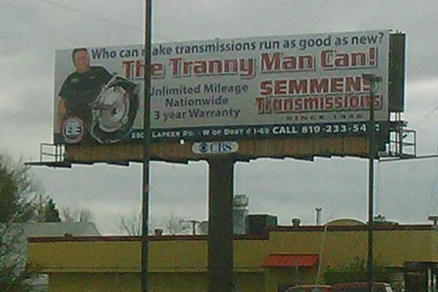 Tranny Man on Dort Highway
