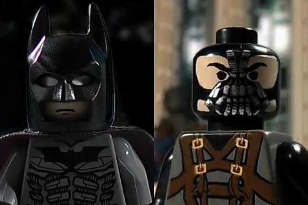 The Dark Knight Rises Trailer #3 LEGO version