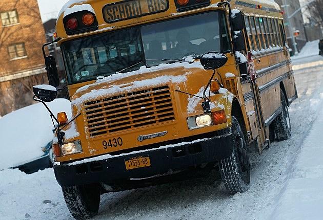 Snow Bus - School Closings