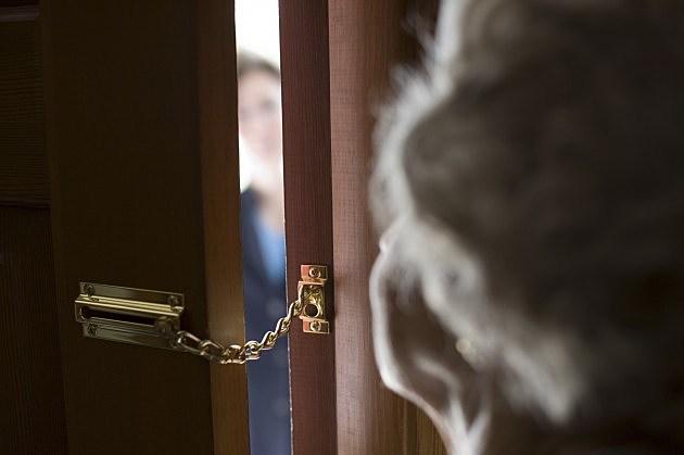 Stranger at Door