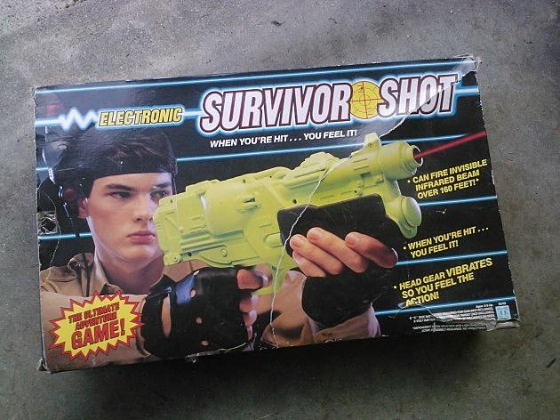 Electronic Survivor Shot - 80s toys