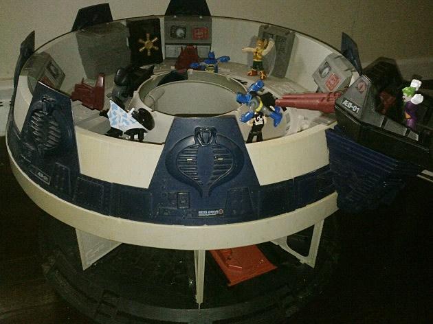GI JOE Cobra Terrordome - 80s toys