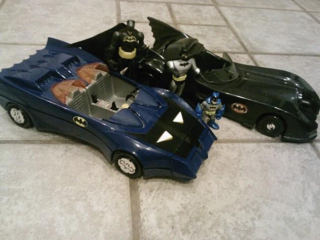 Batmobiles - 80s Toys