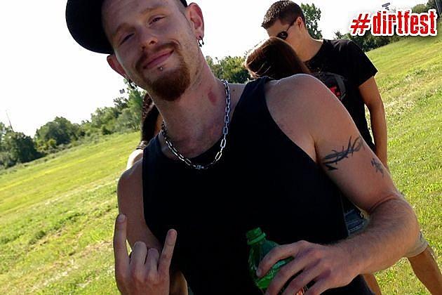 Rock Dude at Dirt Fest 2013