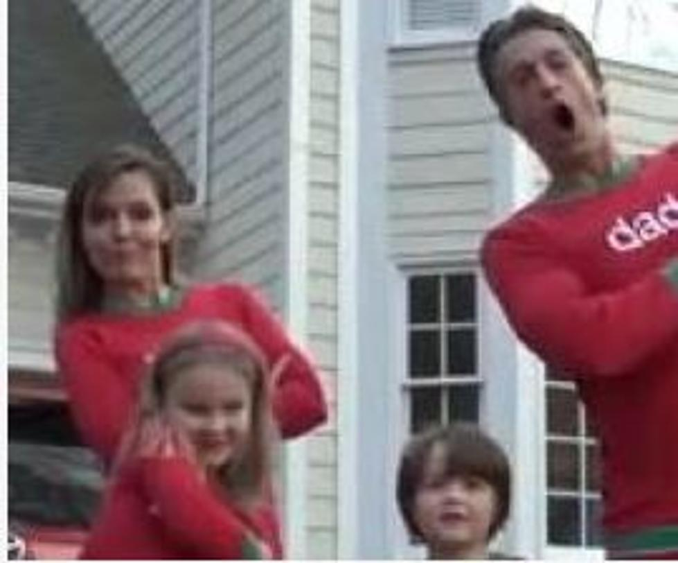 Family \'Christmas Jammies\' Video Goes Viral