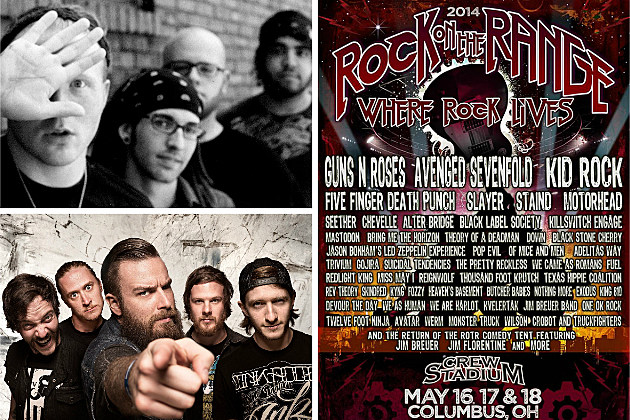Rock on the Range 2014 - Michigan Bands