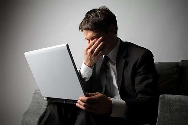 Facepalm Computer Guy
